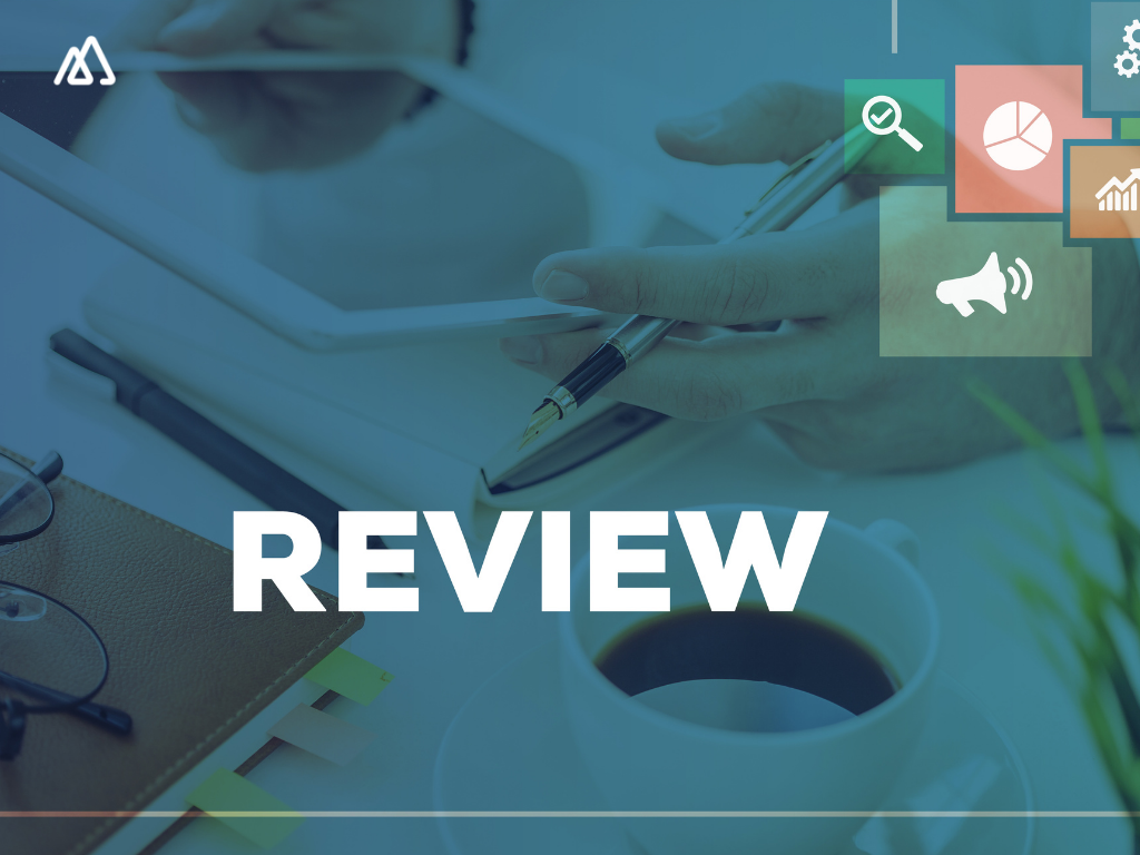 review written with sales reports in bg