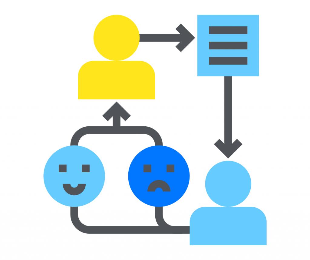 Feedback loop icon
