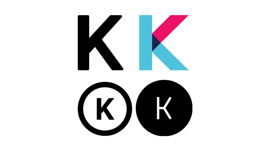 Typeface letter K