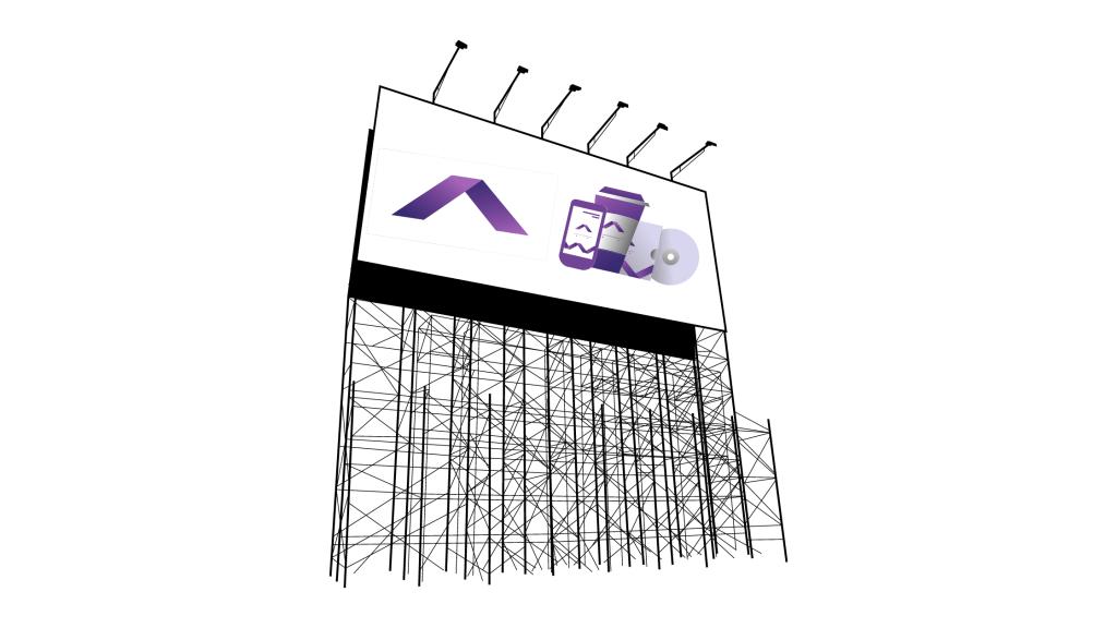 Corporate merchandise illustration