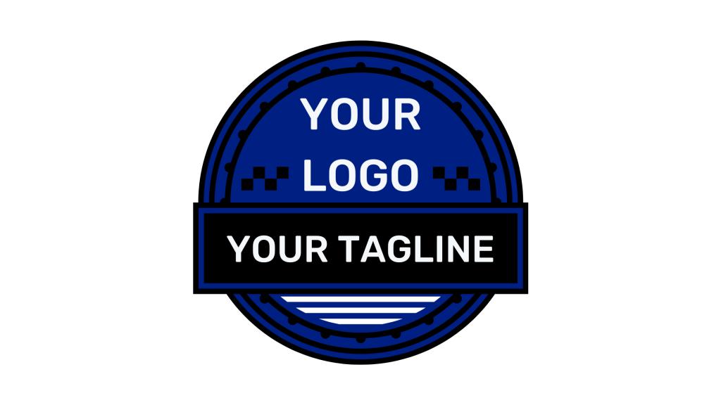 Logo and tagline template