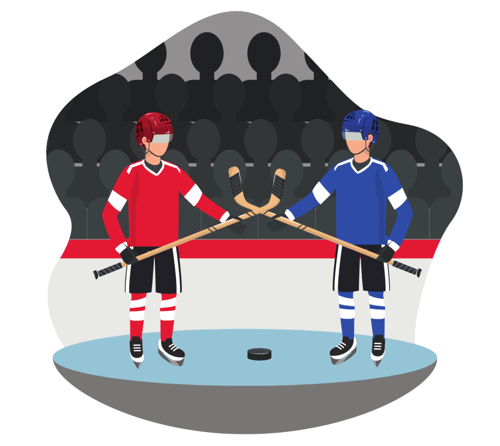 Ice hockey competition