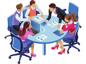 Teamwork illustration 1