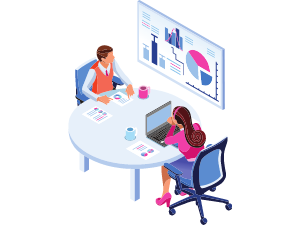 Meeting strategy illustration