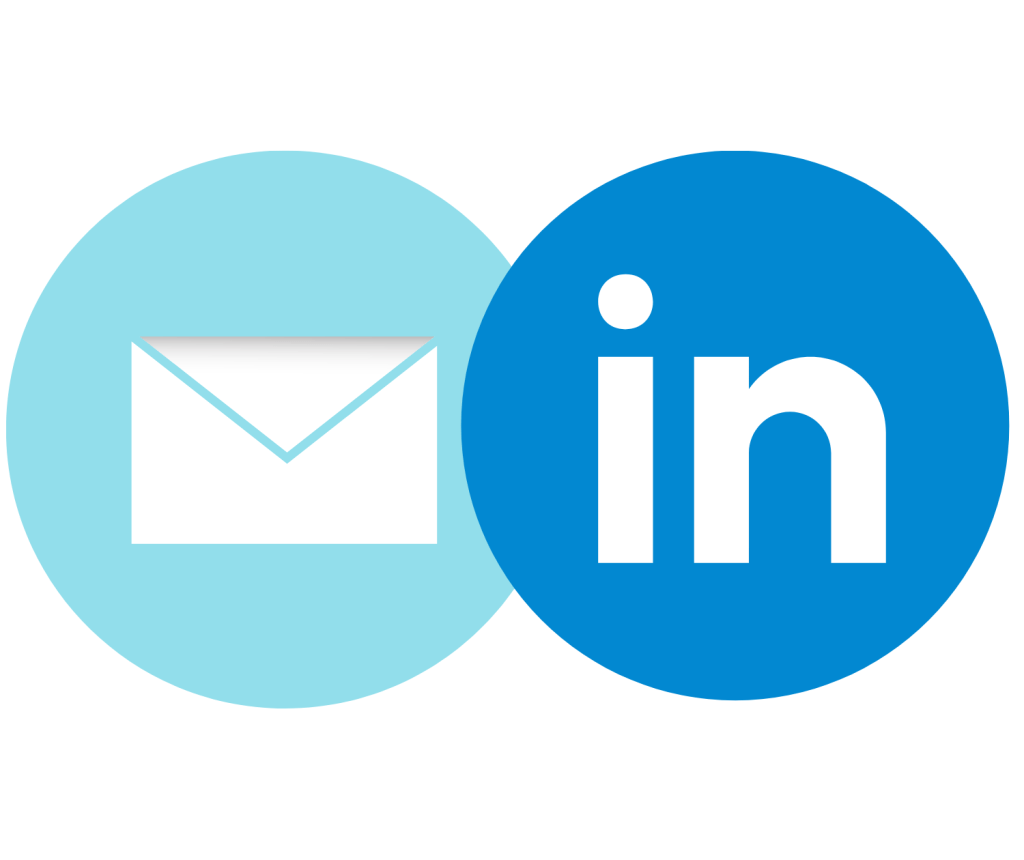 Email and LinkedIn icons