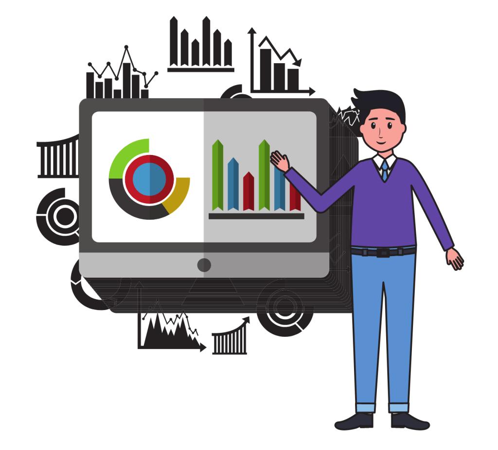 Statistics data business report