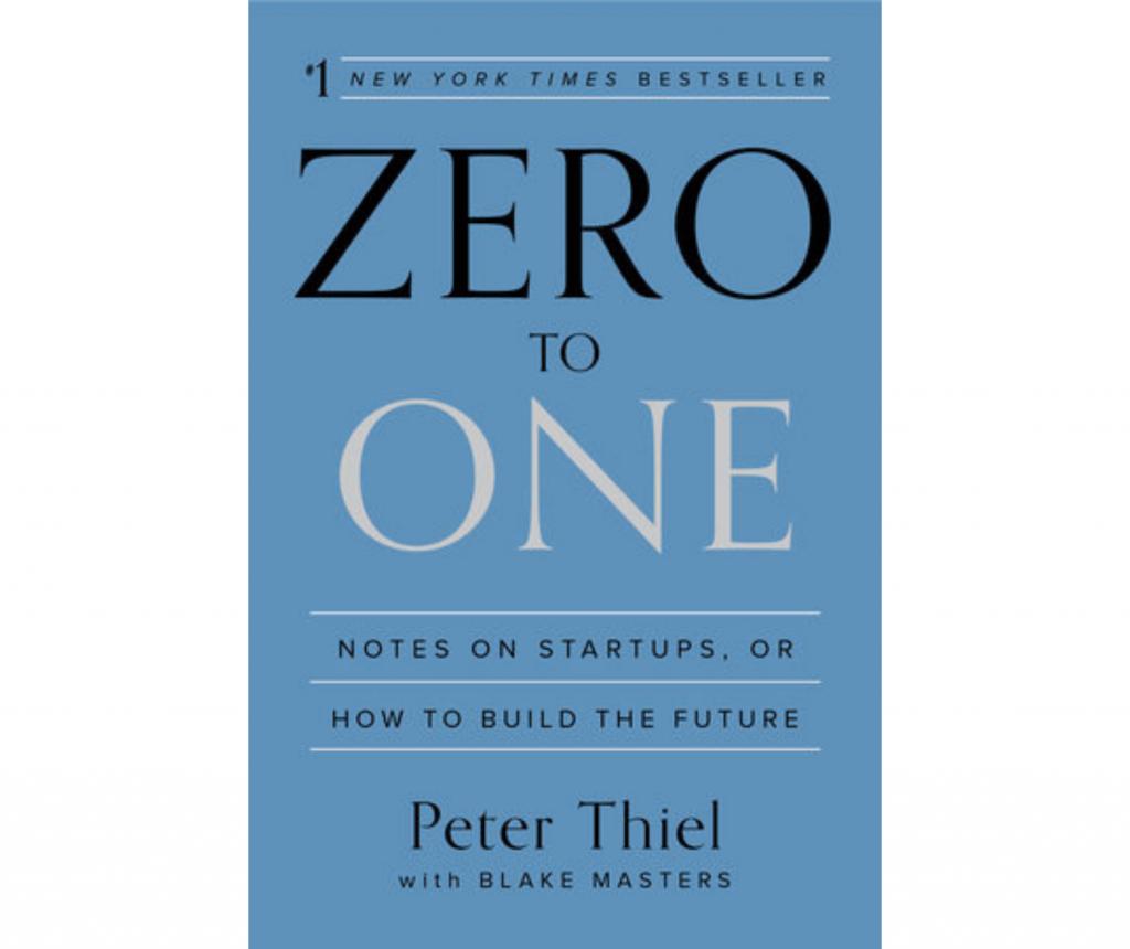 Zero to One book