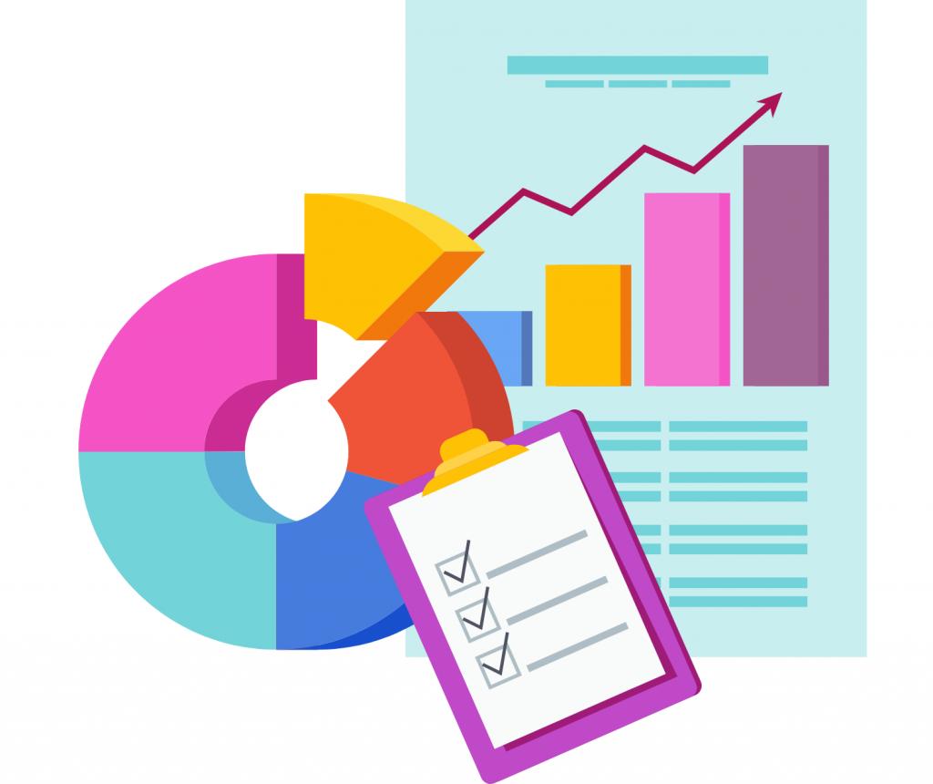 graphs and bar chart