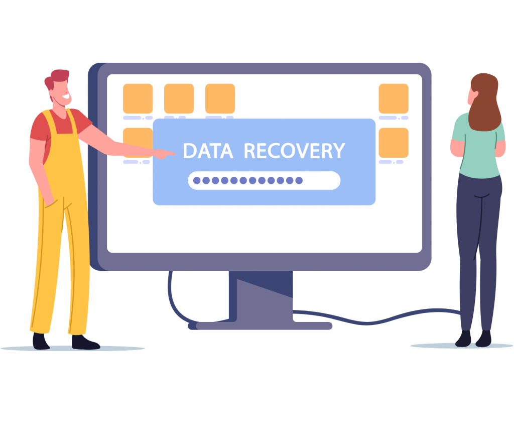 system support recovering data on laptop