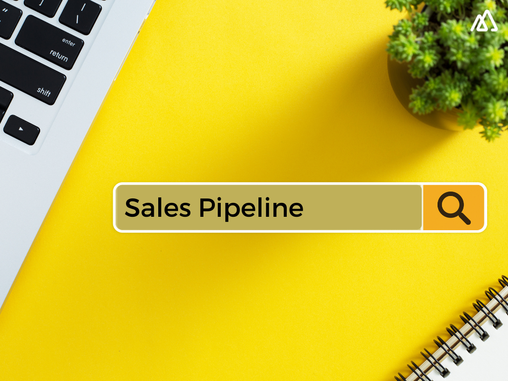 search bar with sales pipeline