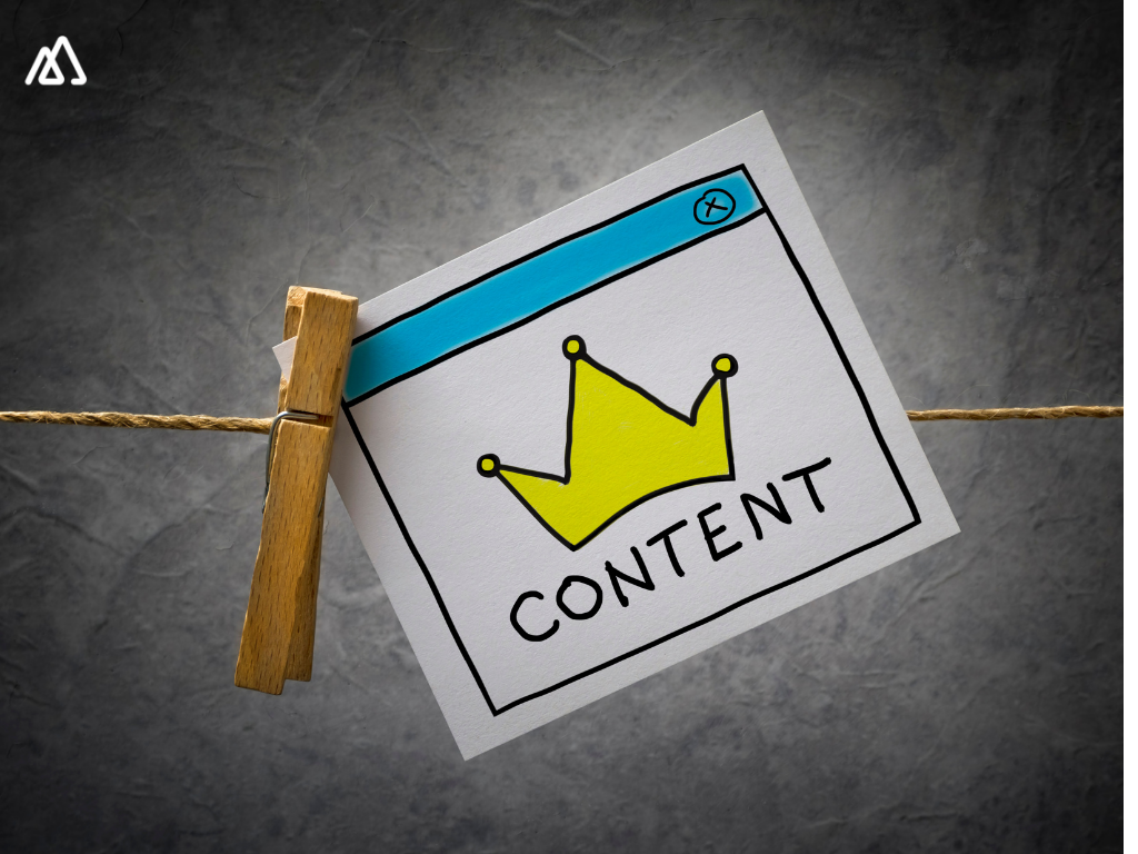 Content is king pinned on a thread