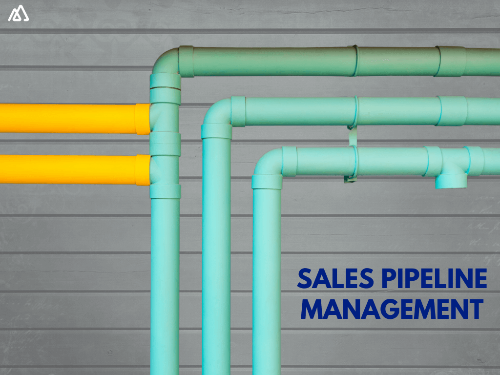 Pipes on brick background illustrating sales pipeline